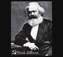 Piece a Week #17: Think Different (Marx) by Insecondsflat
