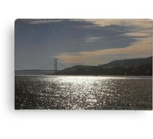 Gateway To The Golden City Canvas Print