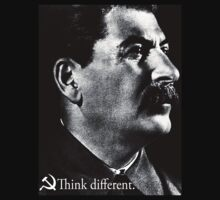 Piece a Week #17: Think Different (Stalin) by Chris Carruthers