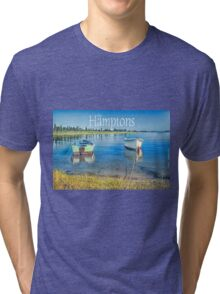 Moored Boats Tri-blend T-Shirt