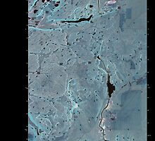 USGS Topo Map Washington State WA Coulee City 20110425 TM Inverted by wetdryvac