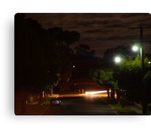 Peart Street Canvas Print