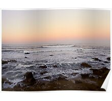 Cambria Sunset Poster