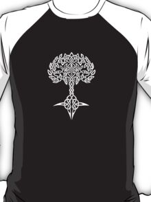 Celtic Tree - White T-Shirt