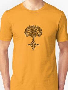 Celtic Tree - Black Unisex T-Shirt