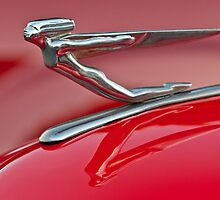 1935 Auburn Hood Ornament by Jill Reger