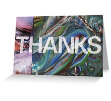 Thanks Multi-layer Greeting Card