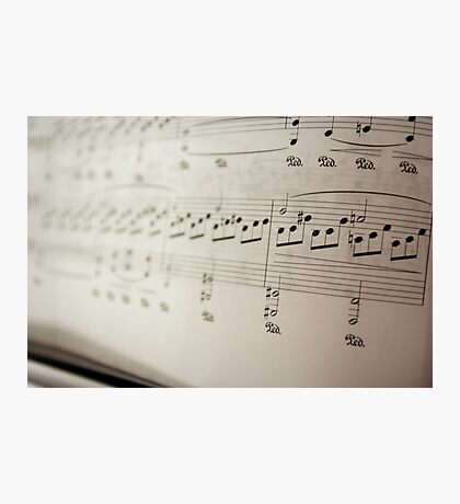 A Classical Piece in Black & White Photographic Print
