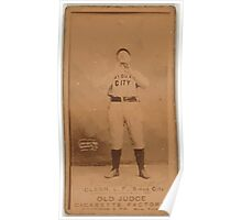 Benjamin K Edwards Collection Mouse Glenn Sioux City Team baseball card portrait Poster