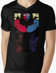 Street Fighter Bosses Mens V-Neck T-Shirt
