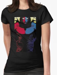 Street Fighter Bosses Womens Fitted T-Shirt