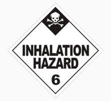 Caution: Inhalation Hazard One Piece - Short Sleeve