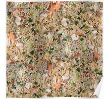 Thai Fried Rice with Shrimp Poster