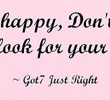 Just Right Got7 lyrics (Pink Ver.) by nicki17
