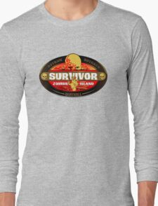 Survivor: Zombie Island Long Sleeve T-Shirt