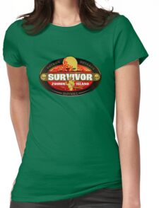 Survivor: Zombie Island Womens Fitted T-Shirt