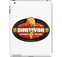 Survivor: Zombie Island iPad Case/Skin