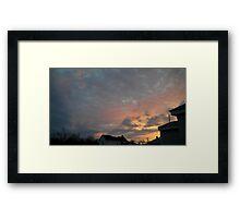 Evening 3 Framed Print