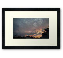 Evening 4 Framed Print