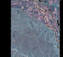 USGS Topo Map Washington State WA Ellensburg South 20110404 TM Inverted by wetdryvac