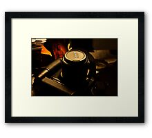 CANON  TAKEN BY CANON  Framed Print