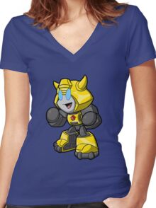 The Bumbler Women's Fitted V-Neck T-Shirt