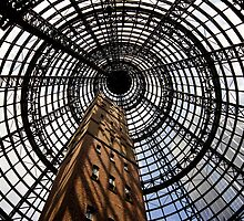 Melbourne Central in colour by Simon Penrose