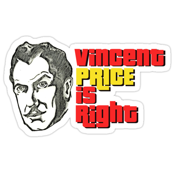 Vincent Price is Right Larger by gaetax12