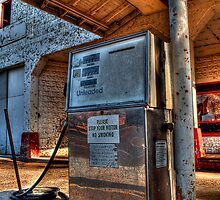 Abandoned Gas Pump  by Kris Graves