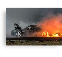 BLOWN Flamethrower Canvas Print