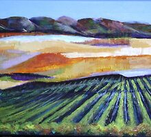 The Vineyard in a New Light by Pauline Marlo-Monten