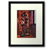 You can leave your Hat on,,, I'm full Framed Print