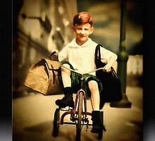 The Little Red Tricycle by Richard  Gerhard