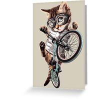 BMX CAT Greeting Card