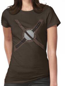 DragonBorn Studded Iron Cuirass Womens Fitted T-Shirt