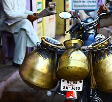 Milk delivery? Bundi, India by fionapine