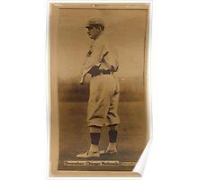 Benjamin K Edwards Collection Roger Bresnahan Chicago Cubs baseball card portrait Poster