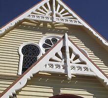 peak of Penguin Church  by gaylene