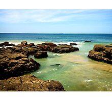 Caves Beach Photographic Print