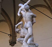 The Rape of the Sabine Women by Anne-Marie Reeves