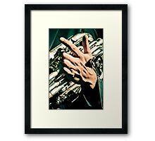 Hands of musicians - 2 Framed Print