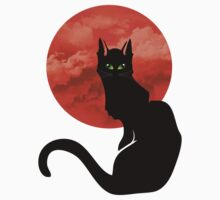 RED MOON CAT One Piece - Long Sleeve