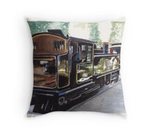 Puffing Billy at Emerald Throw Pillow