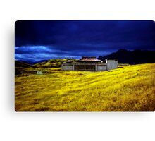 35mm negative of Queenstown Canvas Print