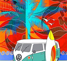 PalmTrees Gumleaves and Combi 3 by Graham Colton