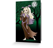 Twisted - Wild Tales: Mayonaka and the Owl Greeting Card