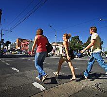 Sydney Road in Brunswick by Darren Stones
