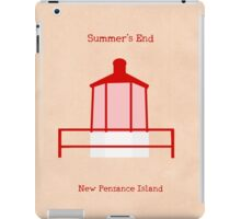 Welcome to Summer's End iPad Case/Skin