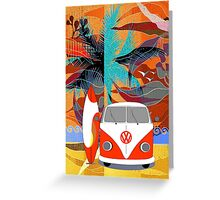 PalmTrees Gumleaves and Combi 2 Greeting Card
