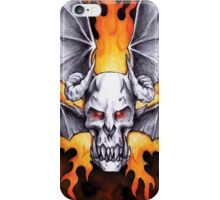 Flying Demon iPhone cover iPhone Case/Skin